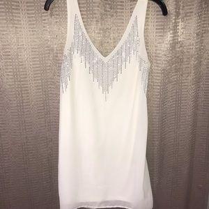 Body Central White Dress